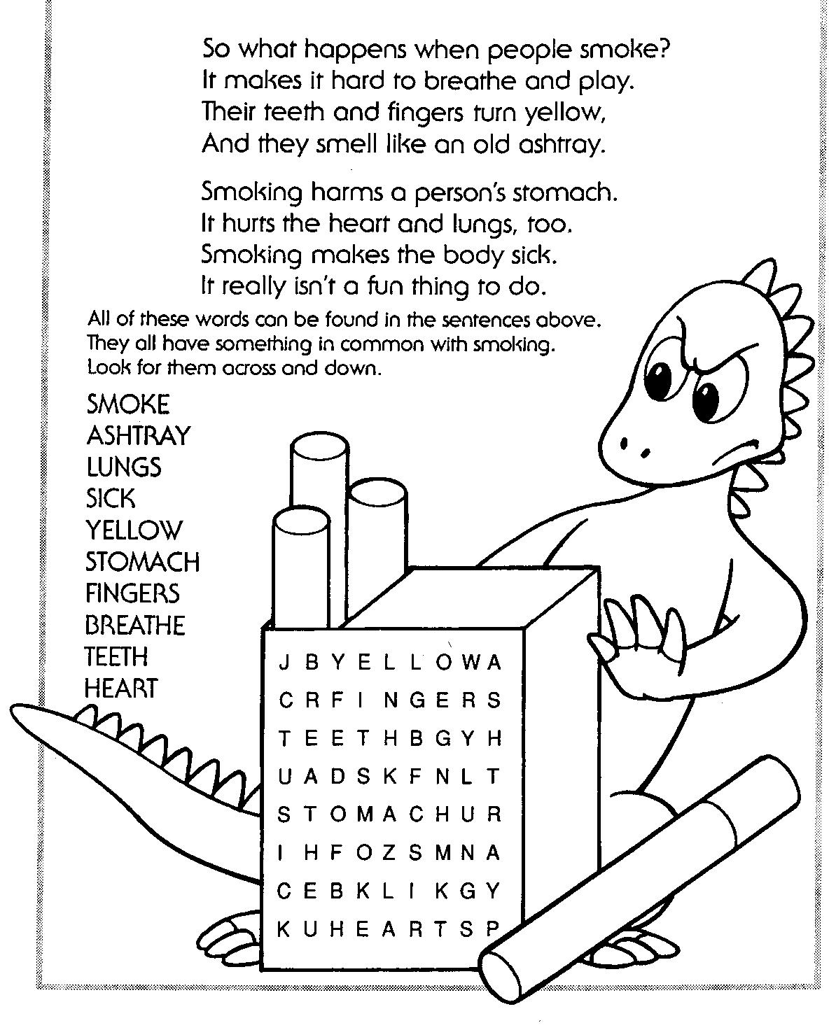 Say no to drugs free coloring pages ~ counselorconnection / Red Ribbon Week